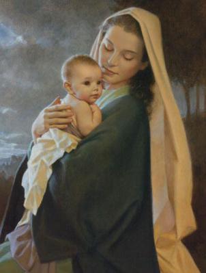 La Eucaristia en la vida de Maria.